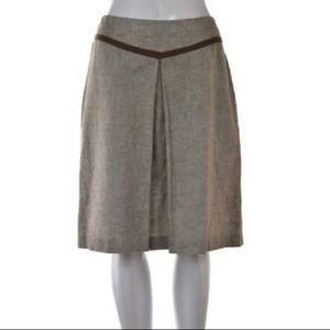 Tory By TRB Womens A-Line Linen Knee Length skirt